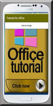 Office Tutorial poster