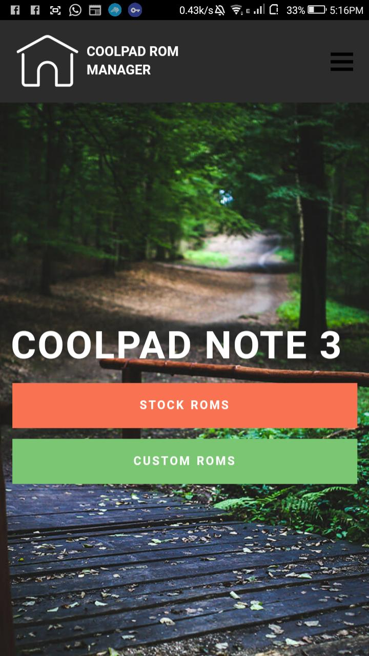 Cool Rom Manager - All Coolpad Devices Roms for Android - APK Download
