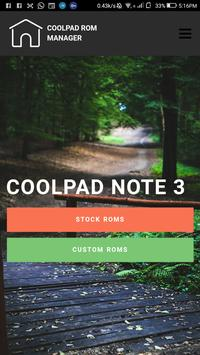 Cool Rom Manager - All Coolpad Devices Roms apk screenshot