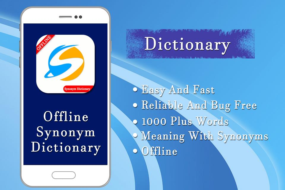 Offline Synonyms Dictionary, English To English for Android - APK
