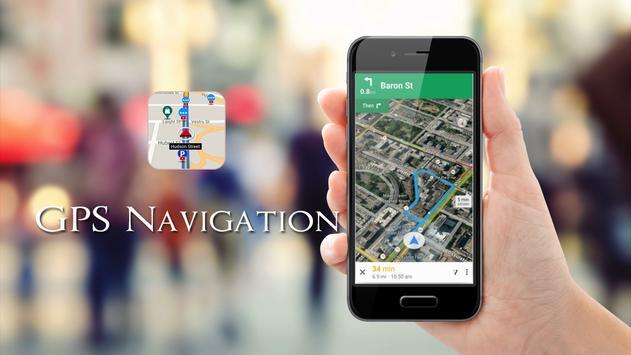 GPS map screenshot 3