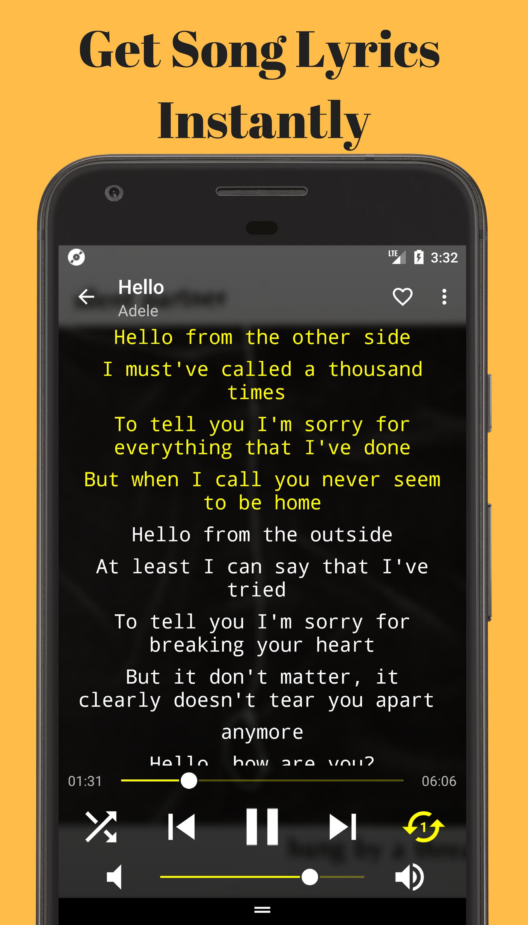 automatic song lyrics generator