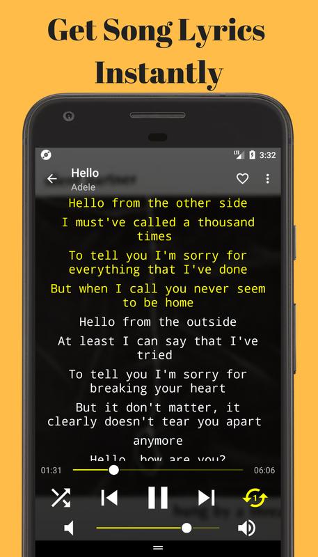 lyrics downloader offline