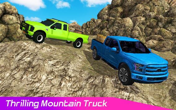 Pickup Truck : 4x4 Uphill Cargo Drive Simulator 3D poster