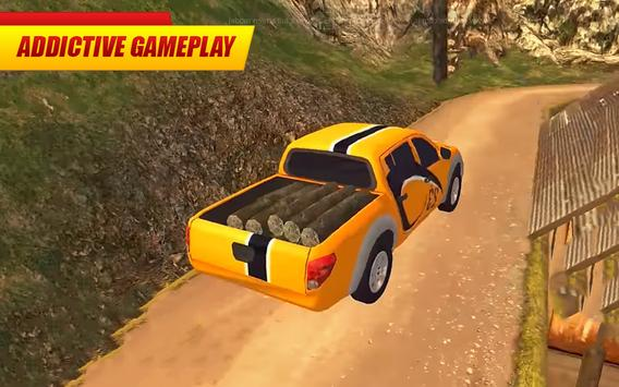 Offroad Pickup Truck : 4x4 Cargo Delivery Drive 3D screenshot 10