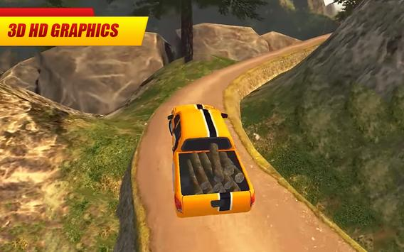 Offroad Pickup Truck : 4x4 Cargo Delivery Drive 3D screenshot 1