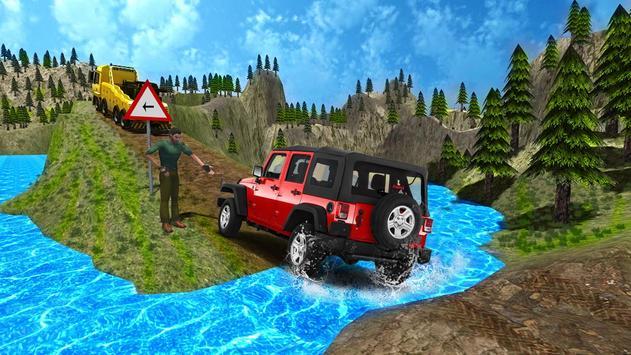 4x4 Off-Road Rally Jeep Mountain Climb screenshot 10