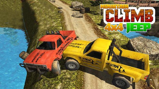 4x4 Off-Road Rally Jeep Mountain Climb screenshot 12