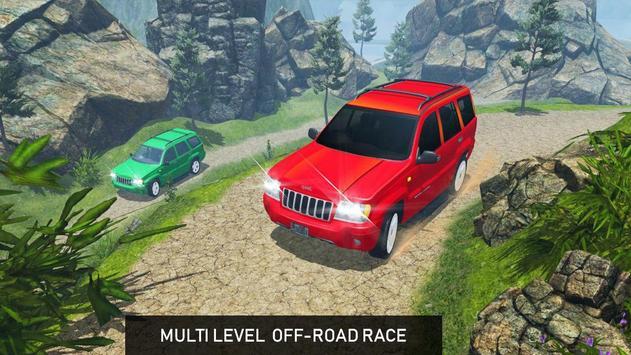 4x4 Off-Road Rally Jeep Mountain Climb screenshot 13
