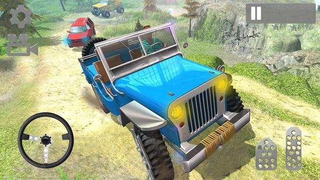 4x4 Off-Road Rally Jeep Mountain Climb screenshot 14
