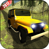 Offroad Jeep Mountain Drive icon