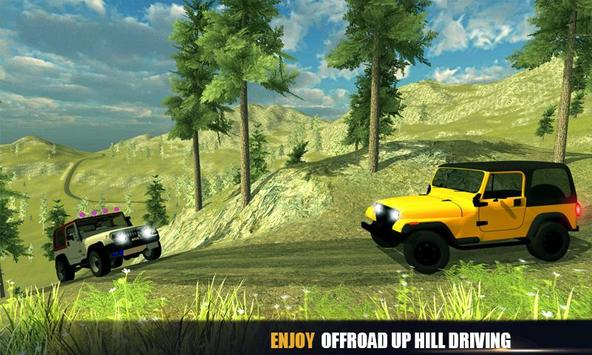 Offroad Jeep Mountain Drive poster