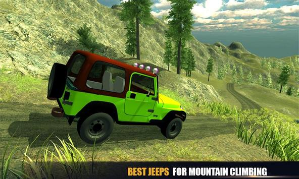 Offroad Jeep Mountain Drive apk screenshot