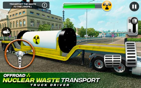 Offroad Nuclear Waste Transport - Truck Driver 截圖 8