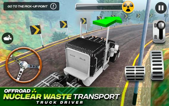 Offroad Nuclear Waste Transport - Truck Driver 海報