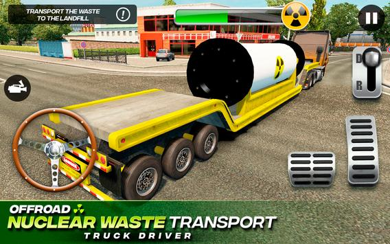 Offroad Nuclear Waste Transport - Truck Driver 截圖 1