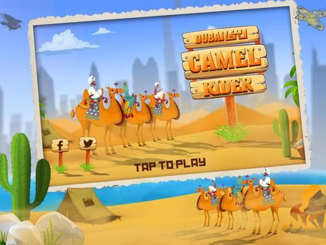 Dubai Camel Riding poster