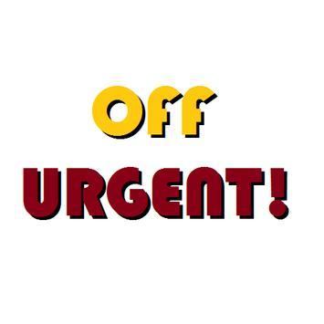 OFF URGENT! poster