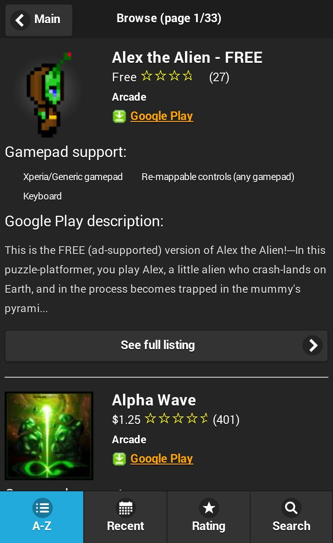 Gamepad Games for Android - APK Download