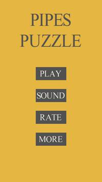 Pipes Puzzle poster