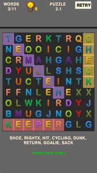 Simple Word Search Puzzle screenshot 5