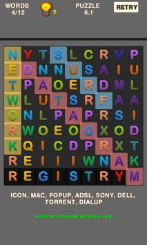 Simple Word Search Puzzle screenshot 1