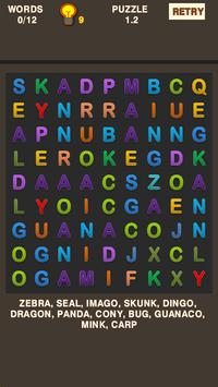 Simple Word Search Puzzle screenshot 3