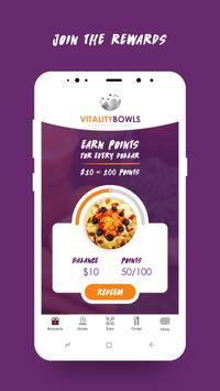 Vitality Bowls Superfood Café poster