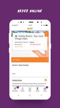 Vitality Bowls Superfood Café apk screenshot