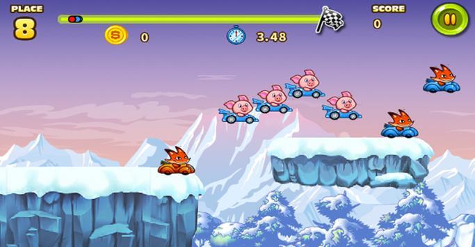Animal Racing Jump screenshot 1