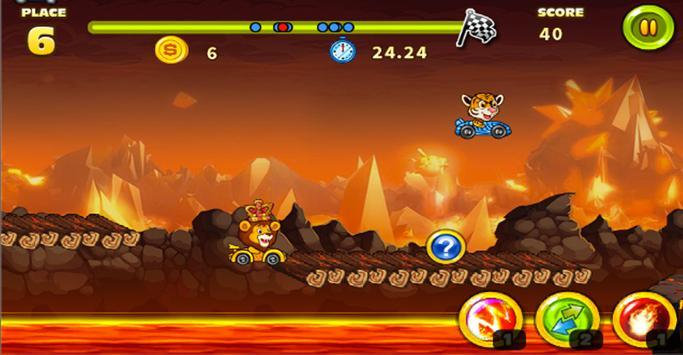 Animal Racing Jump screenshot 2