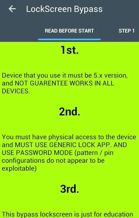 Lockscreen Bypass for Android - APK Download