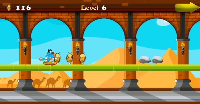 Oggy Runner Game 2016 screenshot 9