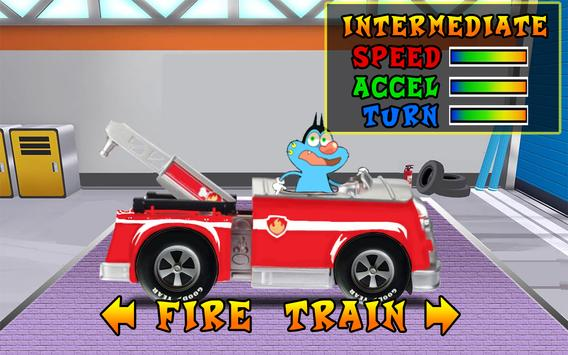oggy Train Game 2017 poster