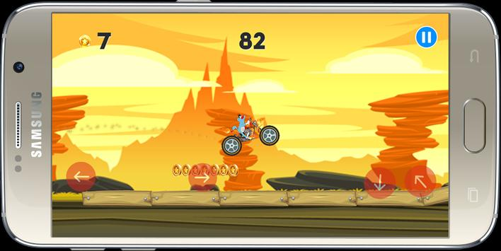 Oggy Moto Racing screenshot 8