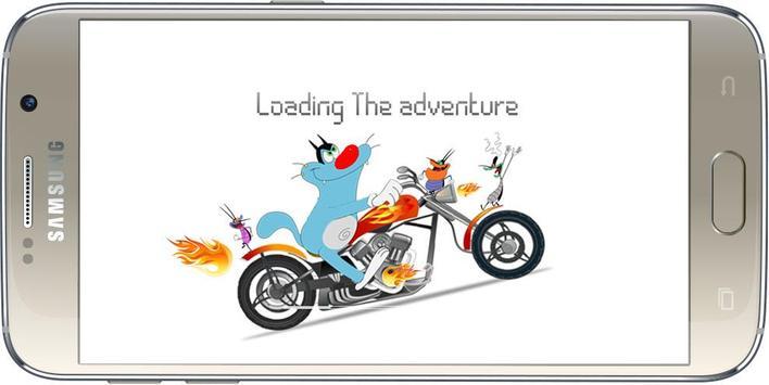 Oggy Moto Racing poster