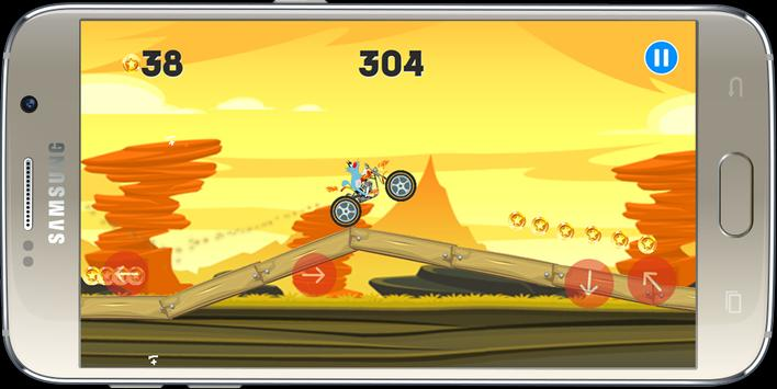 Oggy Moto Racing screenshot 1