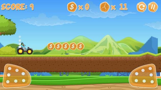 Oggy Racing Climber Adventure screenshot 1