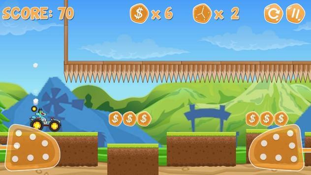 Oggy Racing Climber Adventure screenshot 2