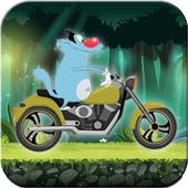 Crazy Motorbikes Adventures with Oggy icon