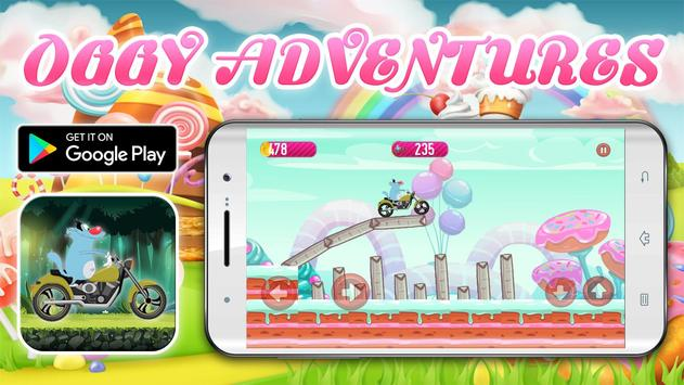 Crazy Motorbikes Adventures with Oggy screenshot 10