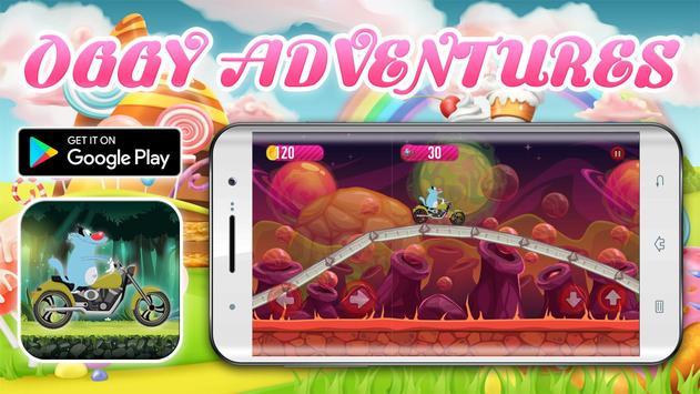 Crazy Motorbikes Adventures with Oggy screenshot 7