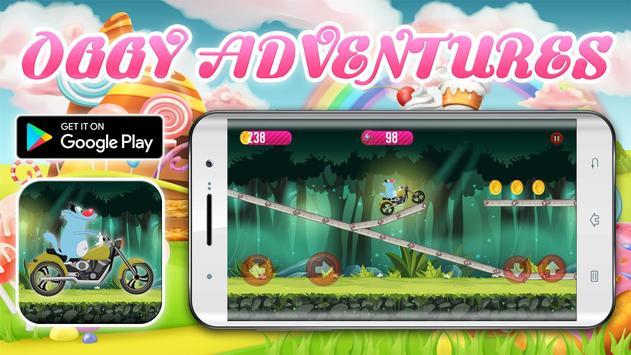 Crazy Motorbikes Adventures with Oggy screenshot 8