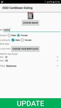 Caribbean Dating Site - OGO screenshot 1