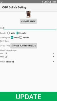 Bolivia Dating Site - OGO screenshot 1