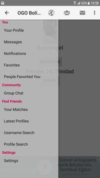 Bolivia Dating Site - OGO screenshot 2