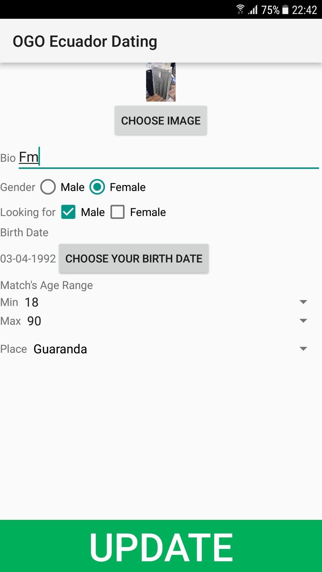 Ecuador Dating Site.