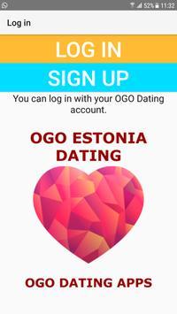 Estonia Dating Site - OGO poster
