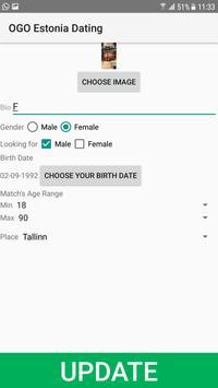 Estonia Dating Site - OGO screenshot 1
