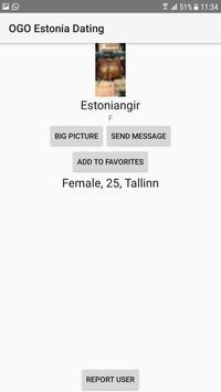 Estonia Dating Site - OGO screenshot 3